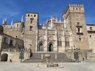 Iglesia; Monasterio de santa María de Guadalupe; Guadalupe; Cáceres; Extremadura