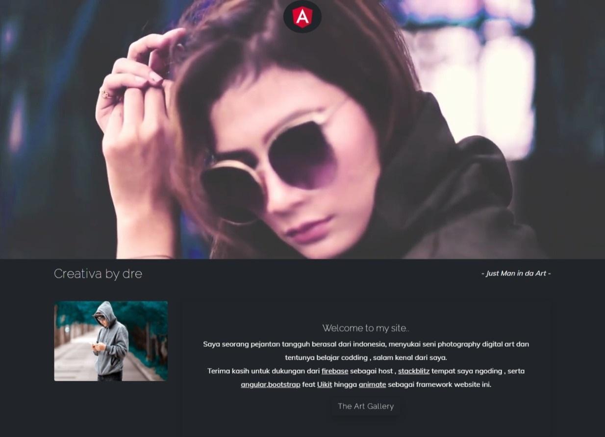 New Portfolio website template themes free download gratis
