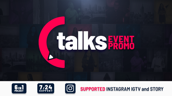 Talks Event Promo Videohive – Free Download After Effects Templates