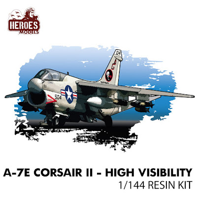 1/144 A-7e Corsair | High Visibility | Resin Kit