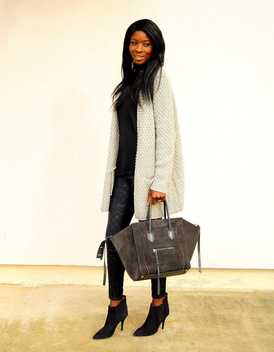 celine phantom sac it-bag pantalon cuir cardigan pimkie isabel marant boots