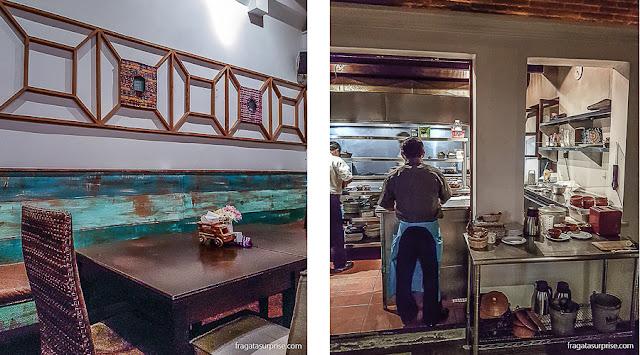 Restaurante 7 Caldos, especializado em comida tradicional da Guatemala, em Antigua