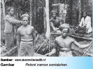 petani zaman penjajahan