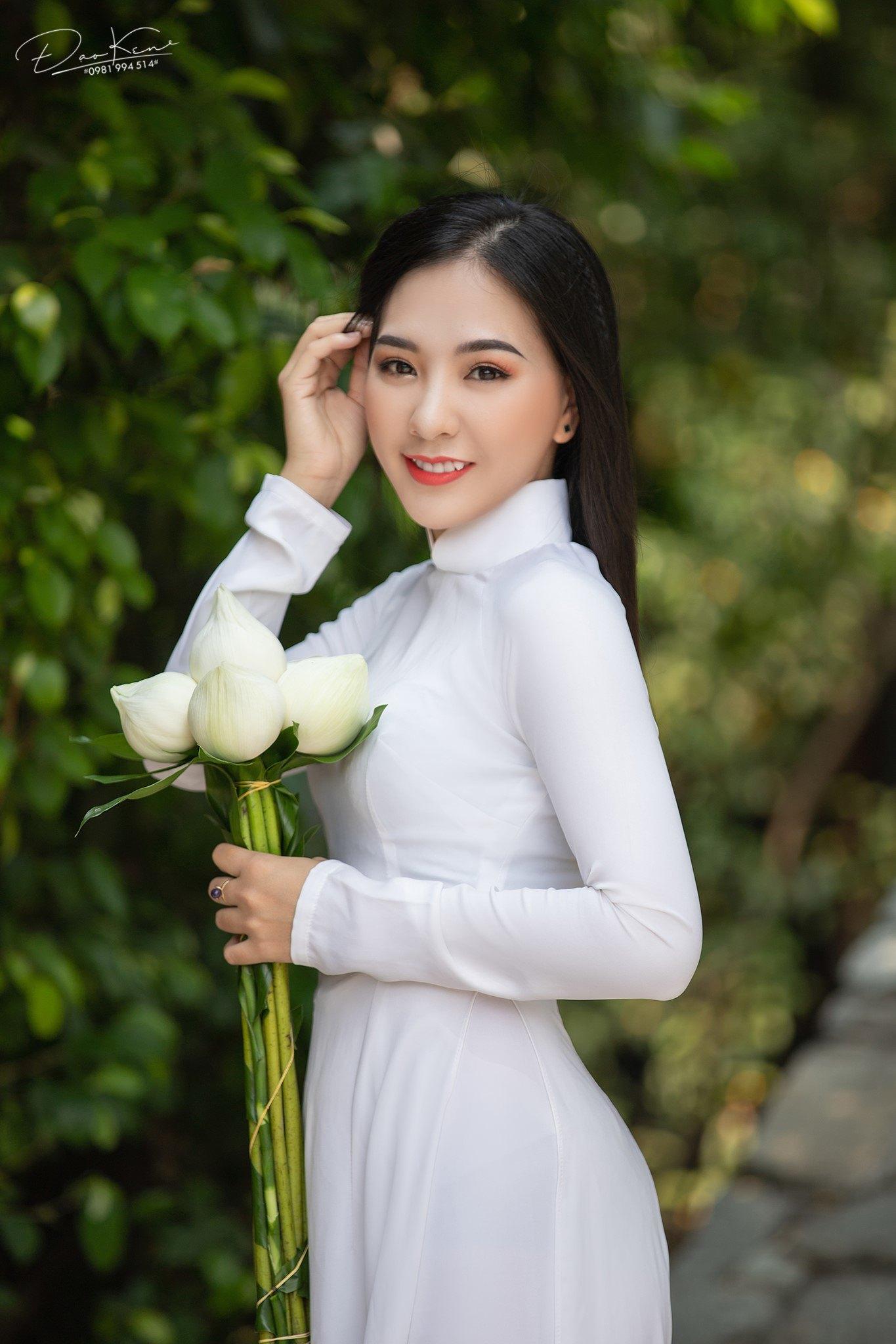 Tuyển tập girl xinh gái đẹp Việt Nam mặc áo dài đẹp mê hồn #57 - 12