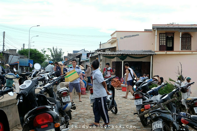 visiting fishing village in mui ne