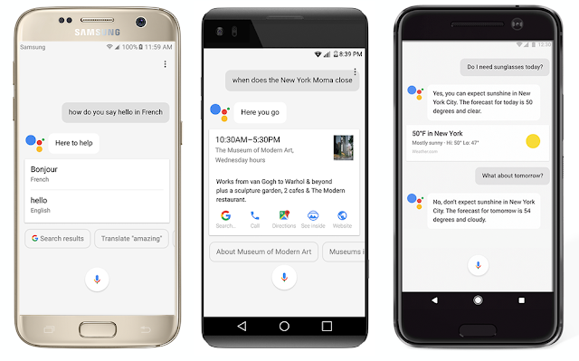 Google Assistant in all Nougat and Marshmallow phones