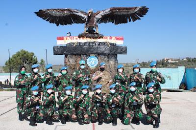 Military Gender Adviser UNIFIL Bertatap Muka Dengan Wanita TNI Satgas Indobatt XXIII-O