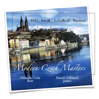 Modern Czech Masters - Feld, Novák, Schulhoff, Martinů; Orlando Cela, David Gillard; Orpheus Classical