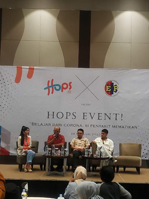 Peluncuran Hops.ID Sekaligus Mengungkap si Virus Corona Yang Menggemparkan Dunia