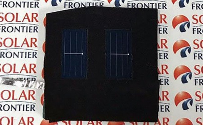 Tinuku Solar Frontier announced thin-film solar cells efficiency by 22.9 percent