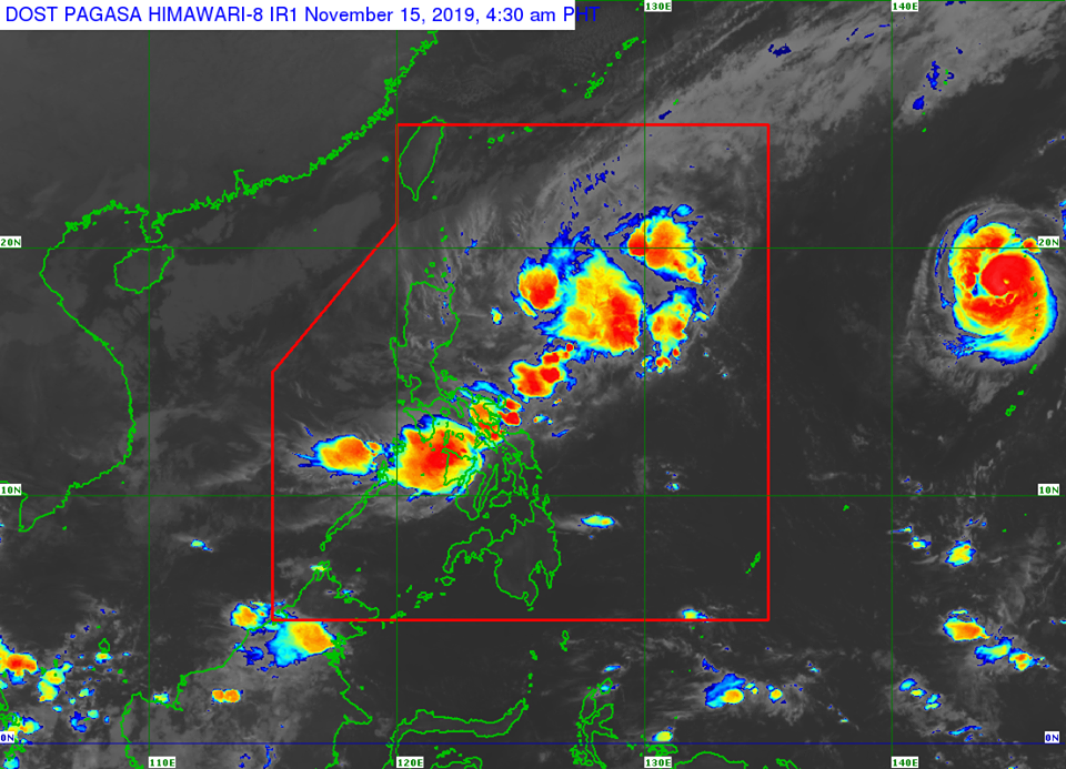 'Bagyong Ramon' PAGASA weather update November 15, 2019