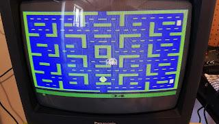 Pac-Man running on the Atari 7800