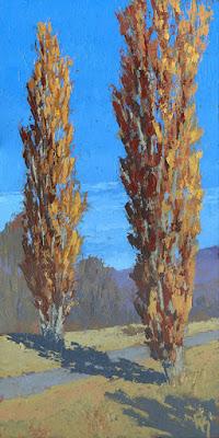 art painting landscape autumn fall nature