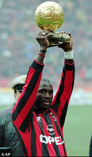 image result of george weah greatest african players