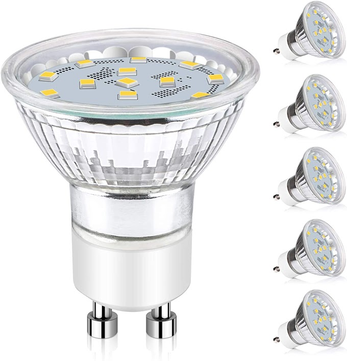 Ascher GU10 bombillas LED