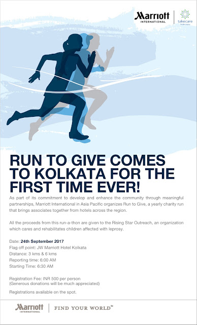 Marriott International's 'Run to Give' Charity Run returns in September 2017 across Asia Pacific