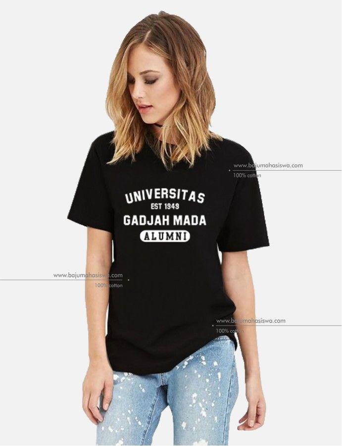 baju mahasiswa tshirt universitas gadjah mada alumni