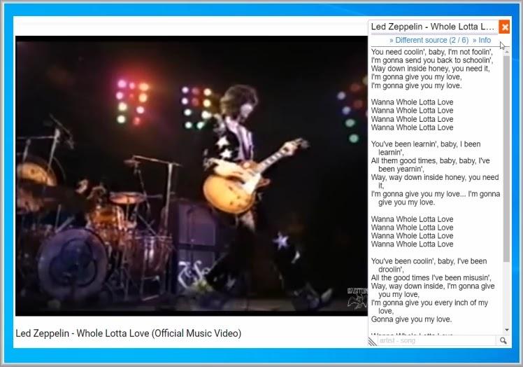 Lyrics Here : Δείτε τους στίχους από τα  μουσικά βίντεο