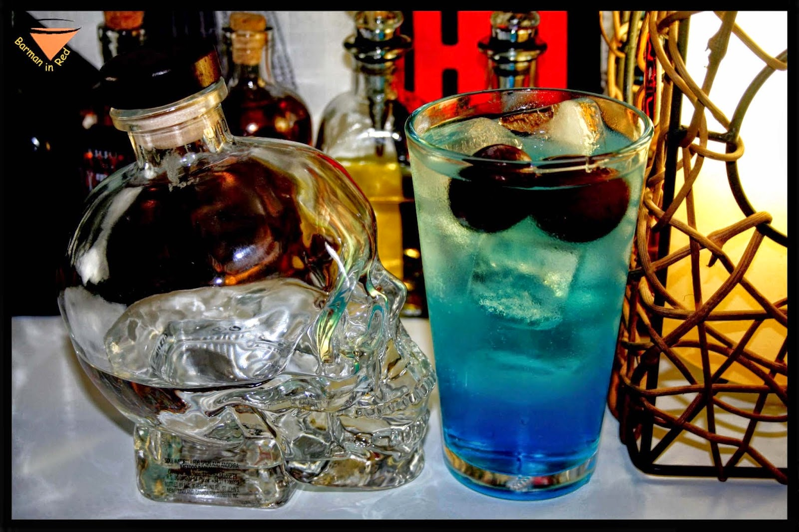 asha blue vodka