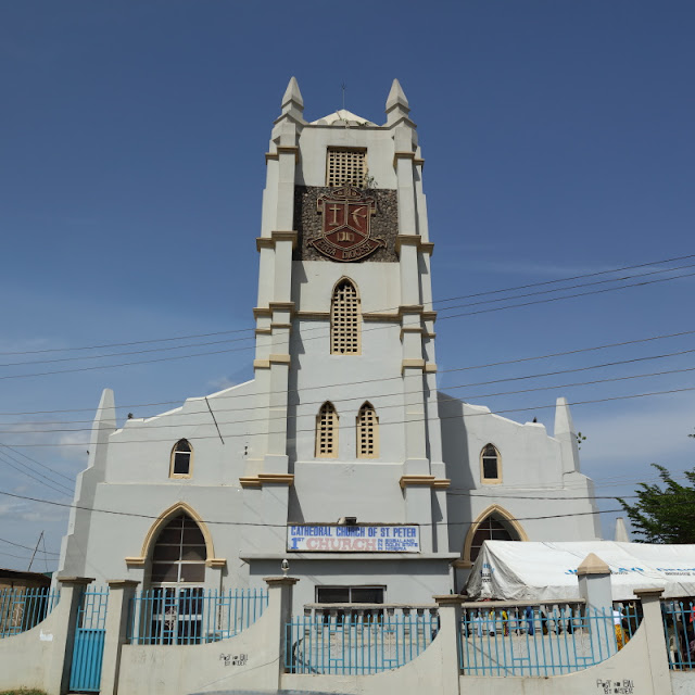 Cathedral church of Saint Peter, the first church in Abeokuta