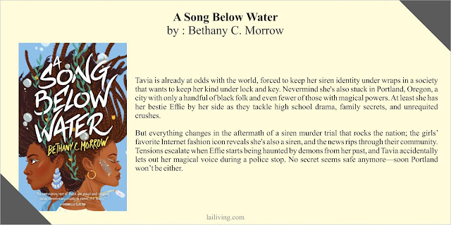A Song Below Water Bethany C Morrow