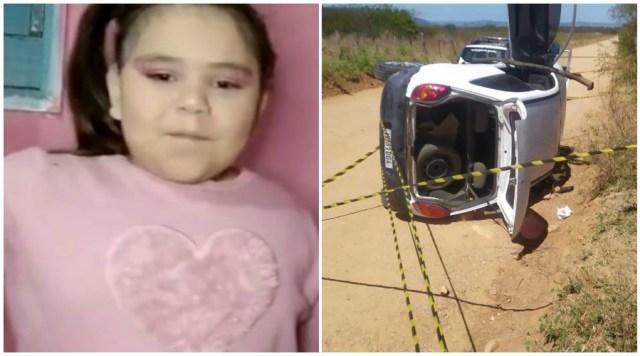 Criança morre em acidente de carro em estrada de terra, no RN