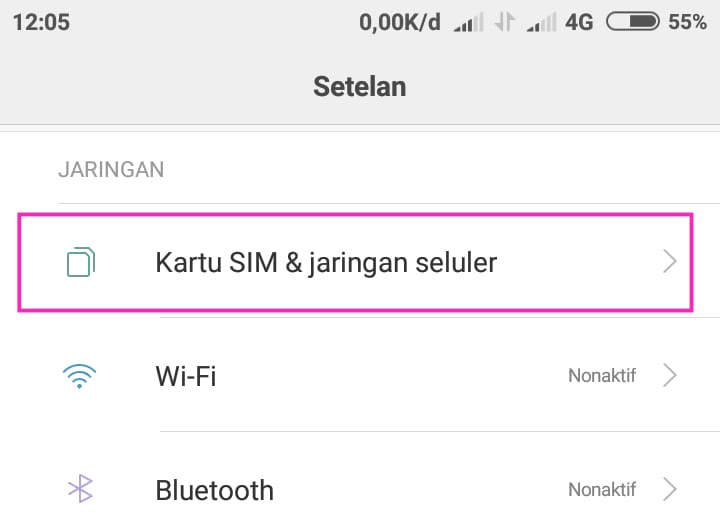 Cara Mengatasi Error (Not Registered on Network) di Smartphone