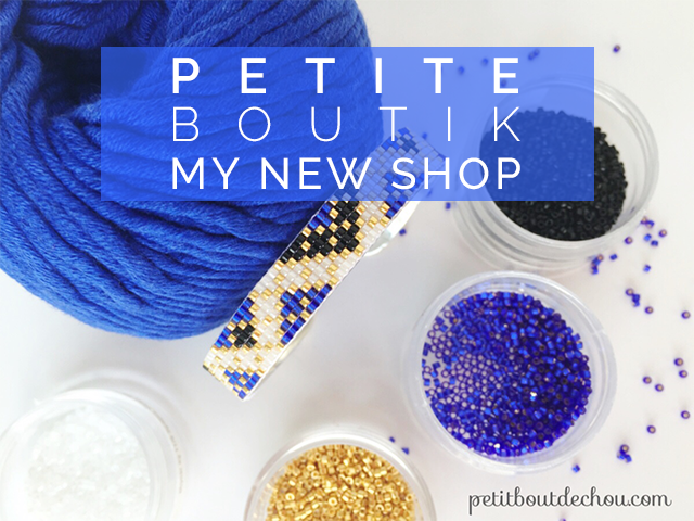Petite boutik - my new shop