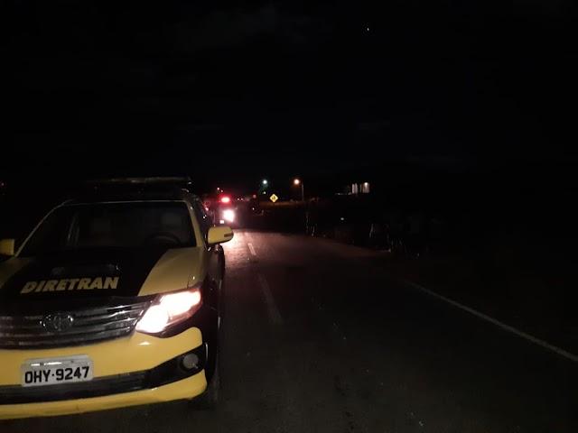 Jovem de 18 anos morre atropelada na zona rural de Hidrolândia