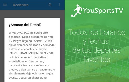 con you tv sports puedes ver fútbol en vivo
