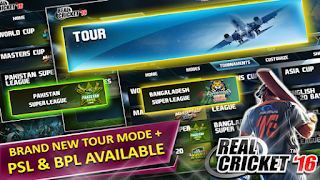 Real Cricket 16 Mod v2.6.5 Apk + Data Terbaru [Unlimited Coins]