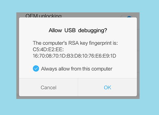 Klik OK Saat Muncul Popup Perizinan USB Debugging Xiaomi