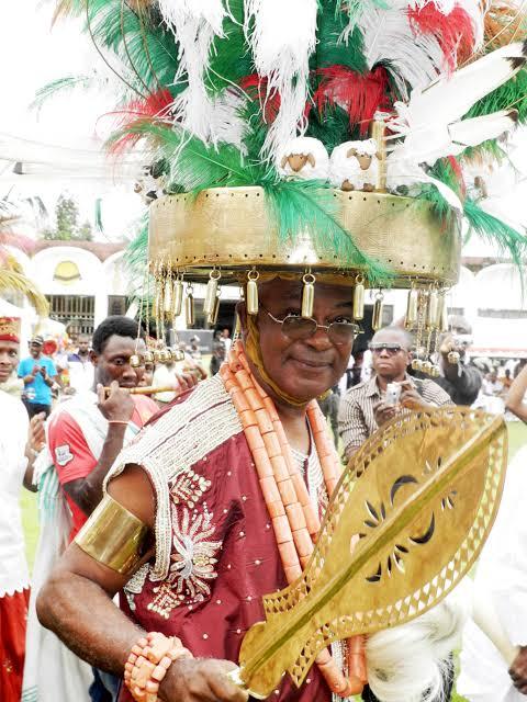 Nnaemeka Alfred Ugochukwu during a Festival