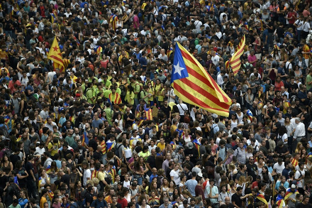 Catalan leader says region will declare independence
