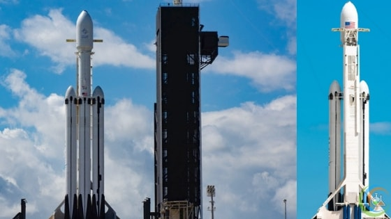 SpaceX Postpones Falcon Heavy Launch to today