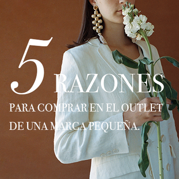"5 Razones para comprar en un outlet ""made in Spain"""