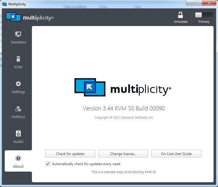 Stardock - Multiplicity v3.44 Full version