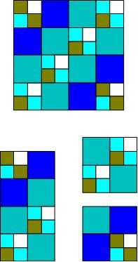 Free How to make a basic quilt pattern block tutorial