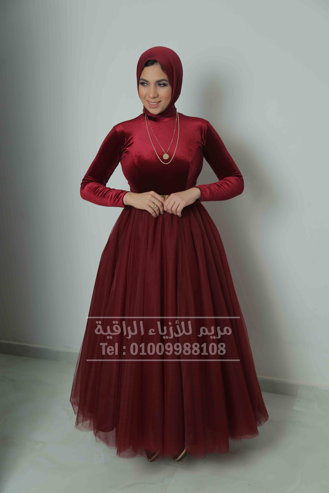 Hijab Soiree Dresses - muslim Dresses