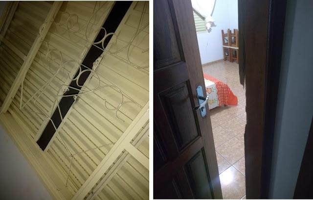Borrazópolis-Rapaz é preso em flagrante furtando residência