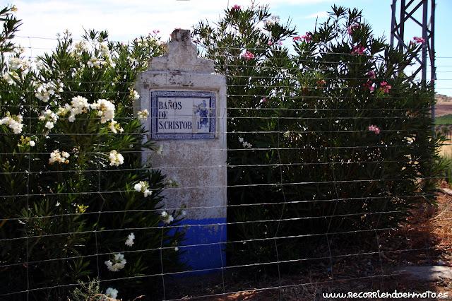 Hito indicador Baños de San Cristobal, Pozuelo de Cva.