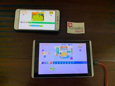 Scratch Jr Bisa Dimainkan di Handphone Android