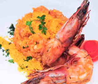 Cocina Ecuatoriana - Meloso de langostino