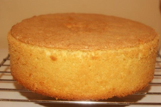 Бисквитный корж в мультиварке рецепт с фото