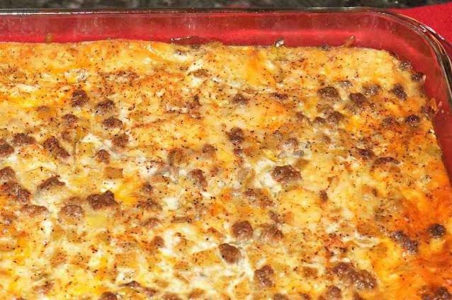 Make-Ahead Tater Tot Breakfast Casserole