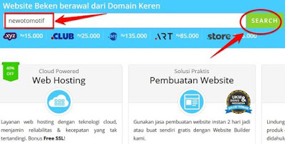 dashboard rumahweb