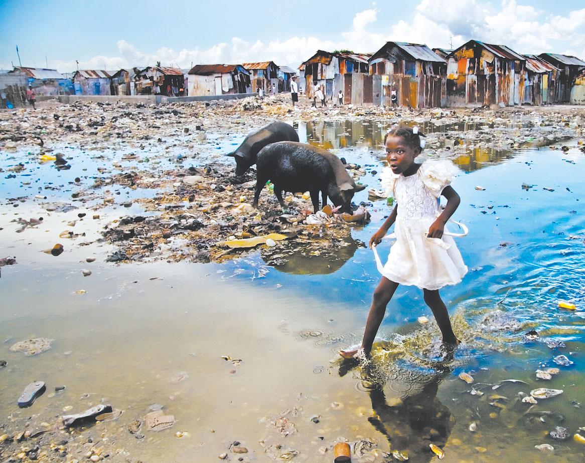 Como Es Vivir En Haiti dejando huellas: haiti: explota su condición de miseria o