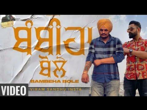Bambiha Bole Lyrics   Sidhu Moosewala ft Amrit Maan