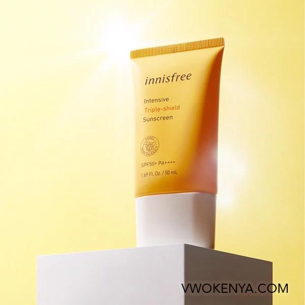 Kem chống nắng innisfree Intensive Triple - Shield Sunscreen SPF 50 + PA ++++