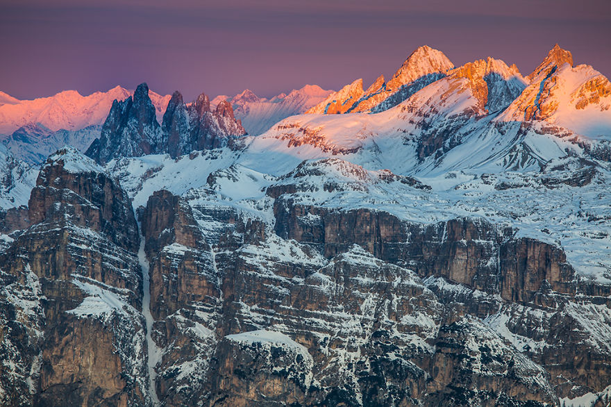 omorfos-kosmos.gr - Δολομίτες Ιταλίας: Πανέμορφες χειμωνιάτικες φωτογραφίες